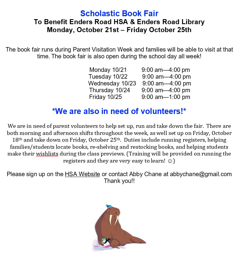 2019 Enders Book Fair Consolidated flyer image revised