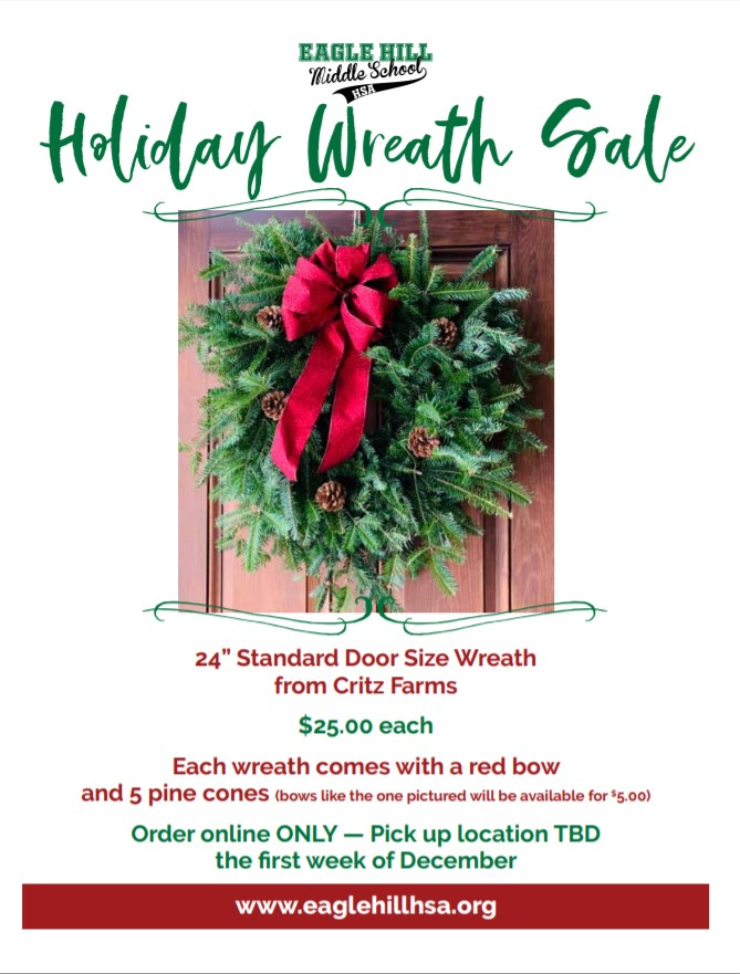 2019 EH Holiday Wreath Sale flyer image