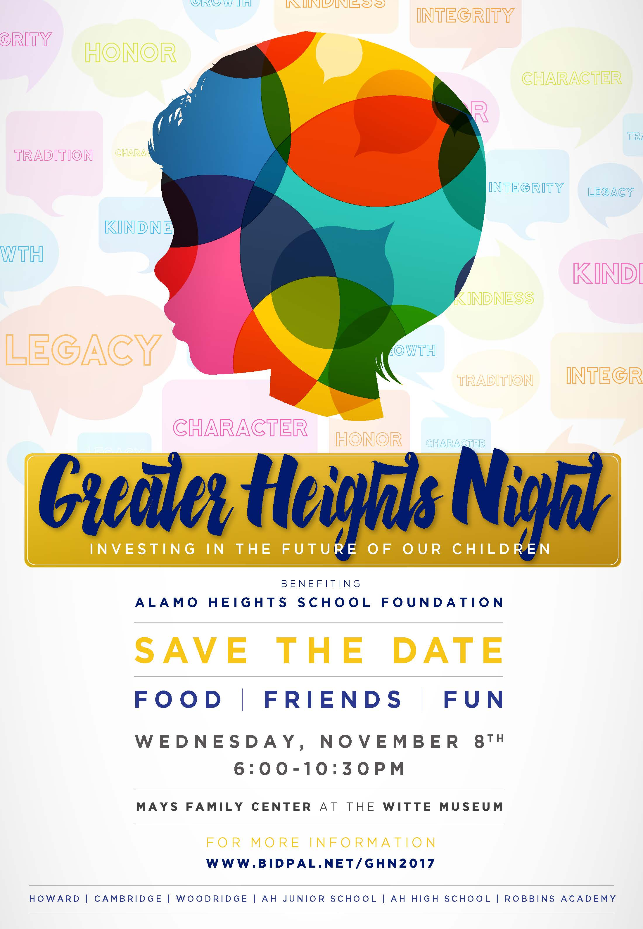 AHSF Greater Heights Night