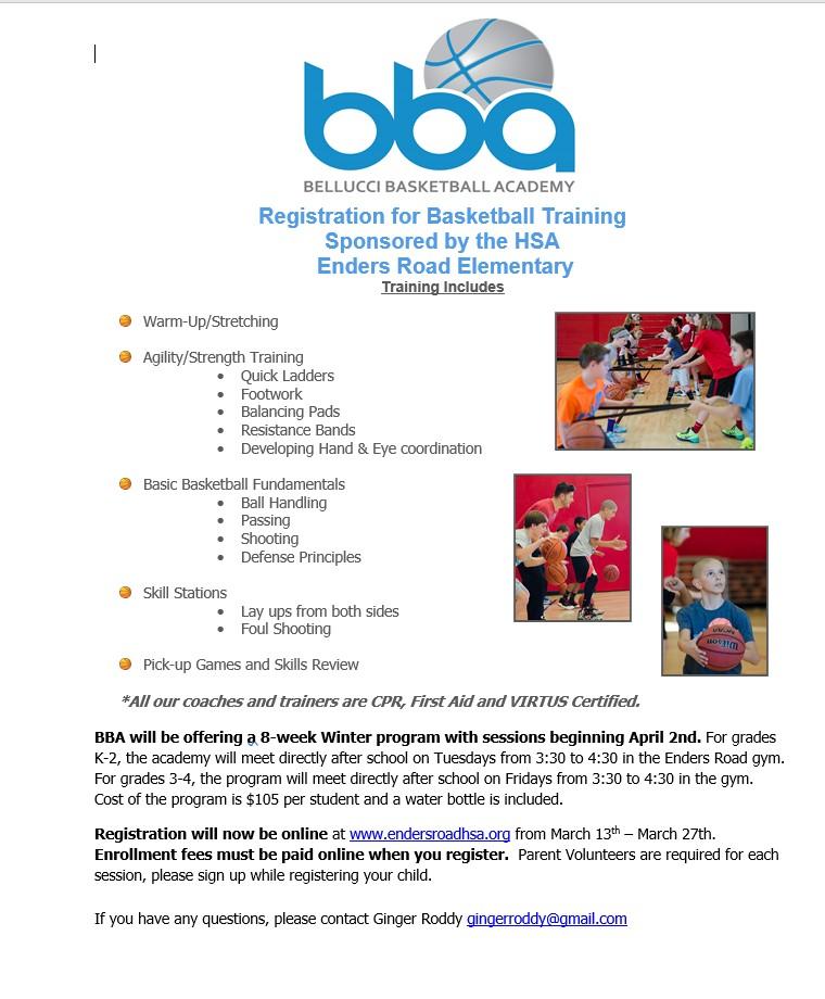 BBA Spring Registration image