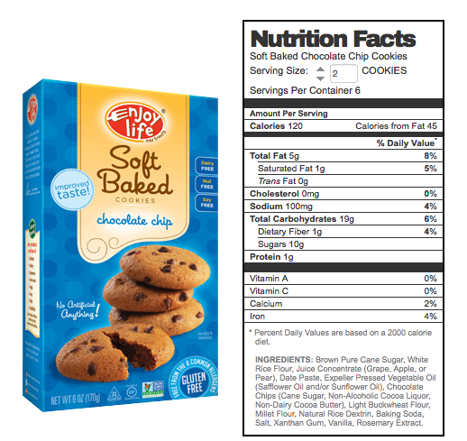 Allergy Friendly Cookie Option