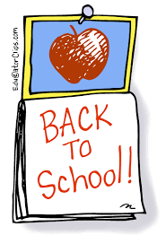 Back to School Calendar Clip Art