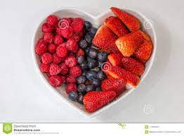 A Bowl of Berries stock image. Image of kitchen, blueberries - 117650377