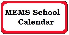 MEMS School Calendar