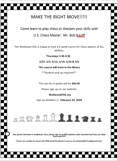 Winter Chess Club